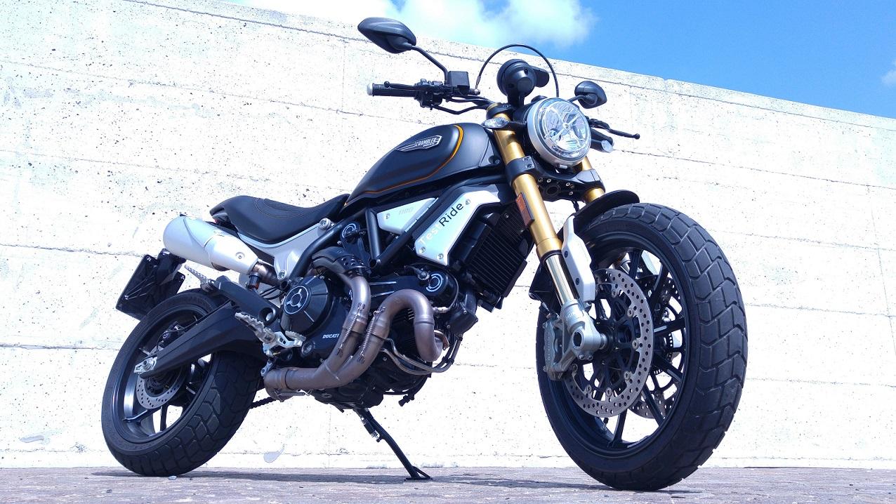 La nuova Ducati Scrambler 1100 Sport