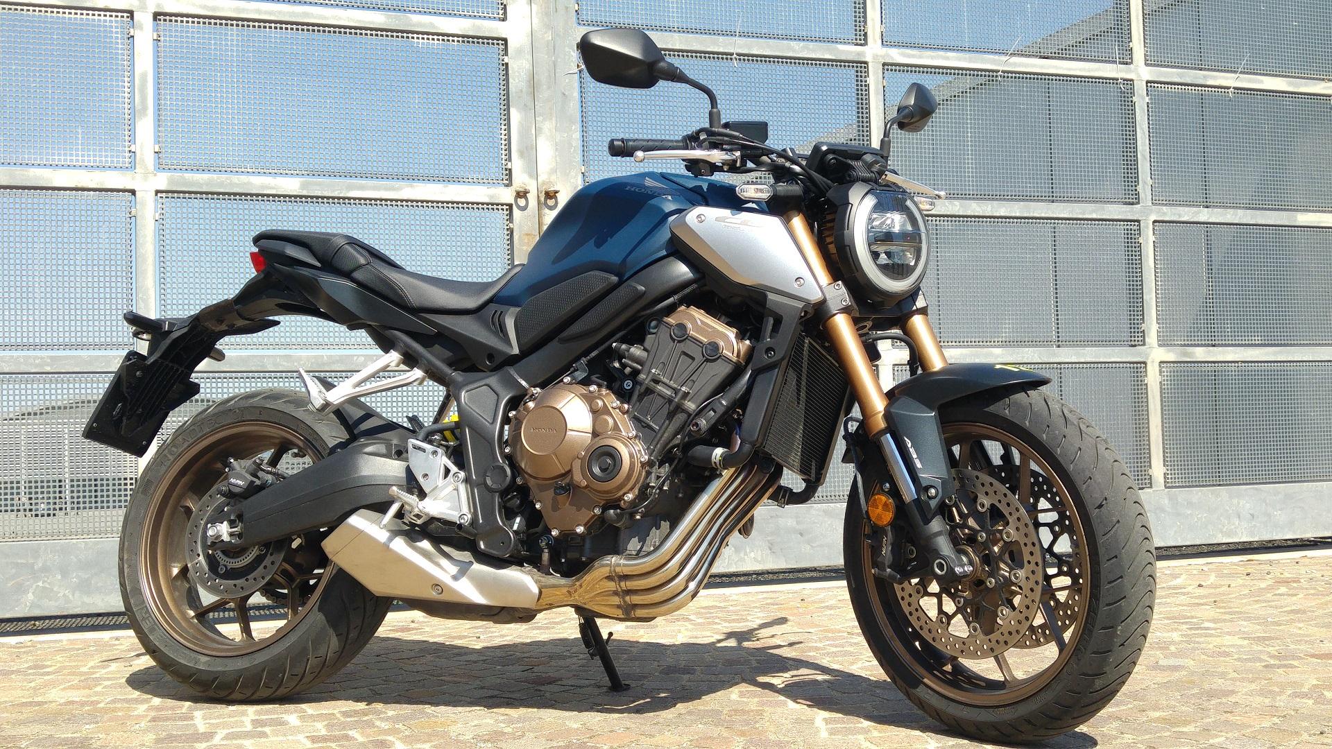Honda CB650R thêm diện mạo mới, cá tính hơn - CafeAuto.Vn